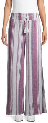 No Boundaries Juniors' Linen Pants