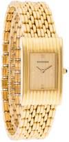 Boucheron Reflet yellow gold watch