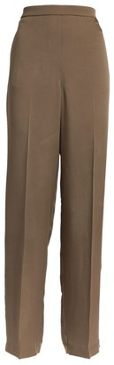 Theory Tailored Silk Trousers