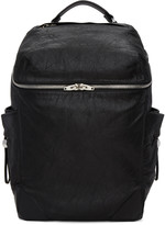 Alexander Wang Black Large Wallie Backpack