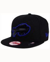 New Era Buffalo Bills Black Bevel 9FIFTY Snapback Cap