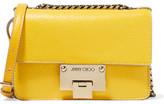 Jimmy Choo Rebel Mini Textured-leather Shoulder Bag - Yellow