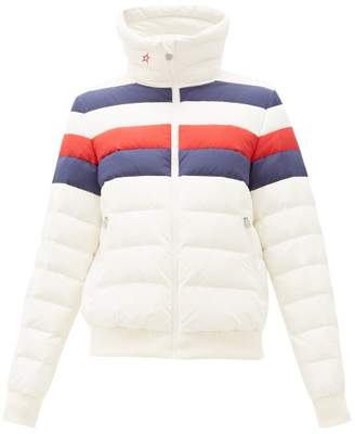 Perfect Moment Queenie Down-filled Jacket - Womens - White Multi