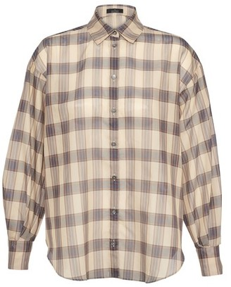 Rokh Check blouse