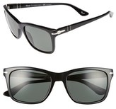 Persol Men's 50Mm Polarized Sunglasses - Black