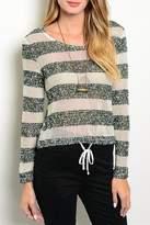 Adore Clothes & More Striped Sweater