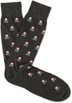 J.Mclaughlin Christmas Skull Socks