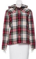 A.P.C. Plaid Hooded Jacket