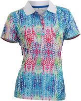 Asstd National Brand Nancy Lopez Golf Birdie Short Sleeve Polo