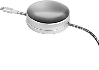 Native Union x Tom Dixon DOME lightning charging cable Brushed Silver