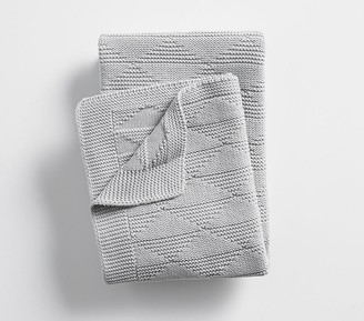 Pottery Barn Kids Triangle Knit Baby Blanket