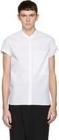 Isabel Benenato White Poplin Shirt