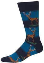 Hot Sox Elk Graphic Socks