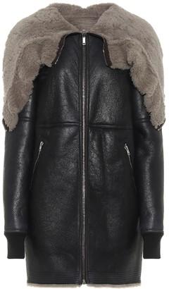 Rick Owens Jumbo reversible shearling coat