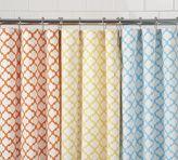 Tile Print Shower Curtain