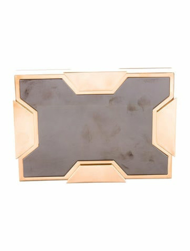 Lee Savage Small Space Clutch Metallic