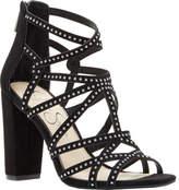 Jessica Simpson Emmi Block Heel Strappy Sandal(Women's) -Black Microsuede Clearance Geniue Stockist xr9d0ahLh