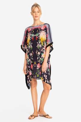 Johnny Was Mono Tunic Cover-Up-Plus Size