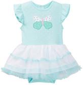 Rene Rofe Butterfly Skirted Bodysuit (Baby Girls)