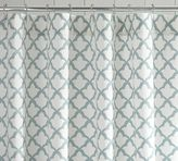 Pottery Barn Marlo Organic Shower Curtain