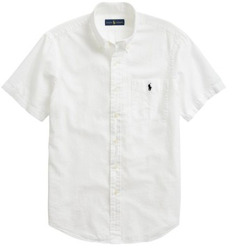 Polo Ralph Lauren Cotton Seersucker Casual Shirt