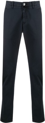Jacob Cohen Academy Straight Leg Chino Trousers