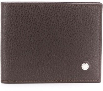 Orciani Pebbled Leather Bifold Wallet