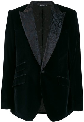 Dolce & Gabbana Blazer With Floral Lining