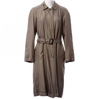 Prada Grey Silk Coat for Women