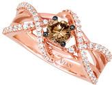 LeVian Le Vian Chocolatier 14K Rose Gold 0.77 Ct. Tw. Diamond Ring