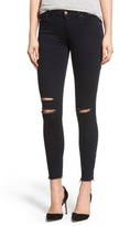 J Brand Women's Destroyed Crop Skinny Jeans