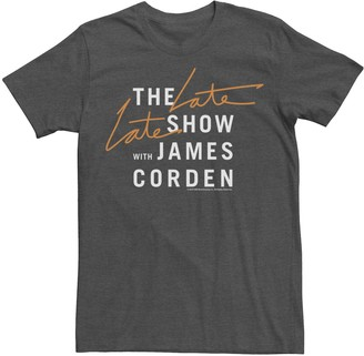 Licensed Character Men's The Late Late Show with James Corden Tee