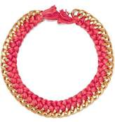Aurelie Bidermann Do Brasil 18-Karat Gold Braided Necklace