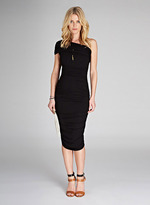 Ruched One Shoulder Maternity Dress