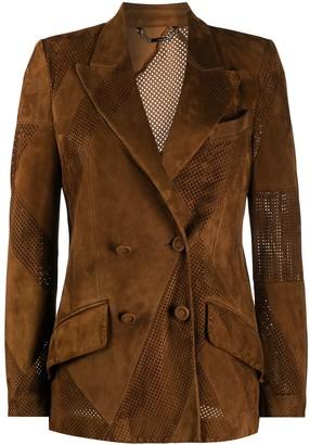 Fendi Perforated Leather Jacket