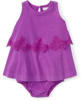 Ralph Lauren Tiered Lace Dress & Bloomer
