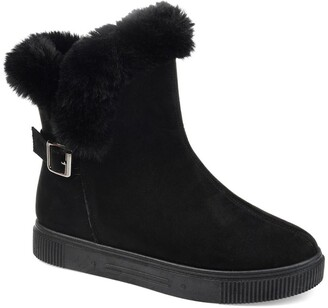 Journee Collection Sibby Faux Fur Lined Boot