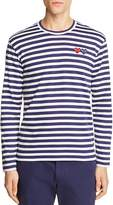 Comme des Garcons Double-Heart Long Sleeve Tee