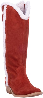 Dingo Tall Leather Shearling Boots - Jango