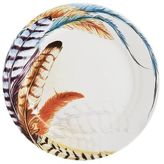 Pier 1 Imports Feather Dinner Plate