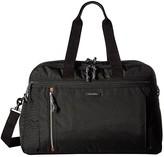 Vera Bradley Lighten Up Weekender Travel Bag (Black) Bags