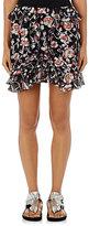 Isabel Marant Women's Purdie Silk-Blend Fil Coupé Miniskirt