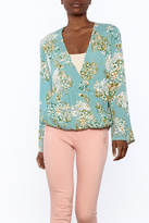 Love Stitch Lovestitch Dessert Floral Blouse