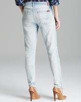 7 For All Mankind Jeans - The Skinny in Sun Bleach Destroyed