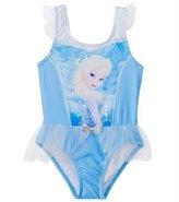 Disney Girls' Frozen Ruffle One Piece Swimsuit (2T4T) - 8147428