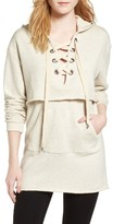 KENDALL + KYLIE Women's Layered Sweatshirt Dress