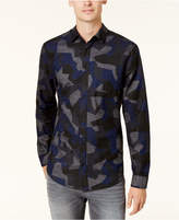 Armani Exchange Men's Camo Shirt