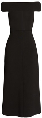 Victoria Beckham Bardot Fit-&-Flare Dress