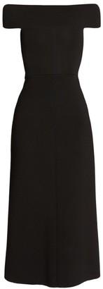 Victoria Beckham Bardot Fit-&-Flare Dress