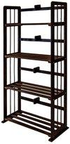 Furinno FNCL-33002-C1 Pine Solid Wood Bookshelf
